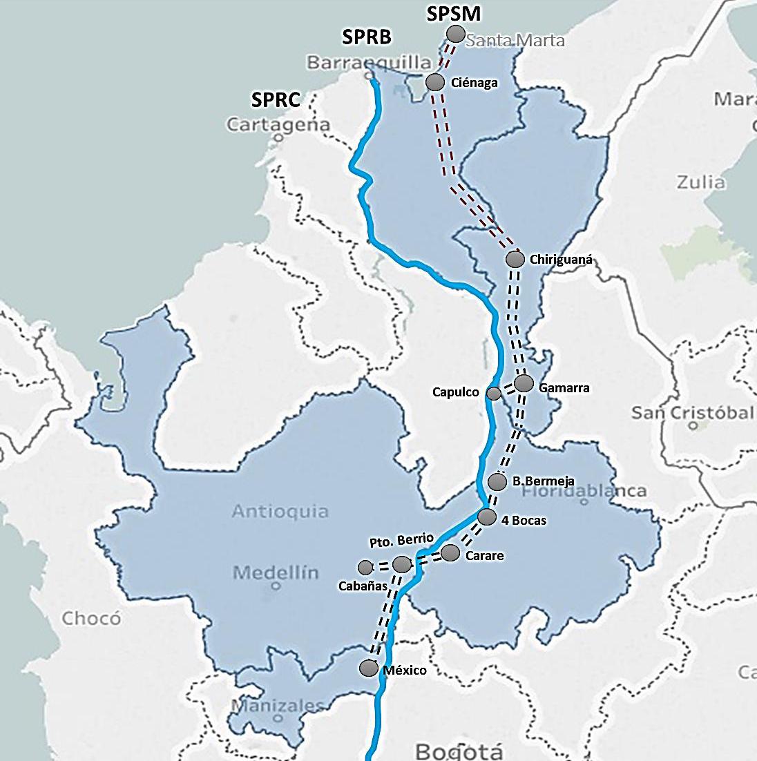 RUBAU - APP CORREDOR CENTRAL